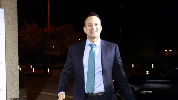 Fine Gael's Leo Varadkar pictured as he arrived at the RTE for the Prime Time Leaders Debate.Picture Credit:Frank McGrath 4/2/20