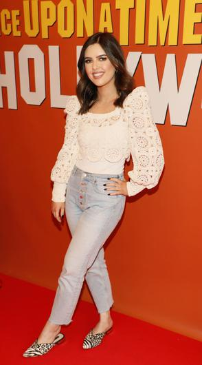 Bonnie Ryan at the Irish screening of Once Upon a Time...in Hollywood  at the Stella Theatre, Rathmines. Picture: Kieran Harnett