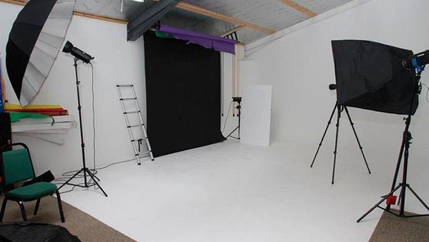 The photographic studio where Paul Brown, also known as Paul D Smart, lured women for sex through a fake modelling website. Photo credit: Devon and Cornwall Police/PA Wire