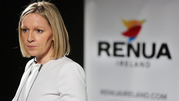 Leader Lucinda Creighton at the launch of Renua in Trinity College, Dublin, back in March. Photo: Gerry Mooney
