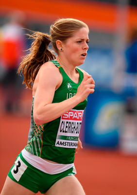 To win as she did Cléirigh-Buttner had to spend a long time losing. Photo by Brendan Moran/Sportsfile