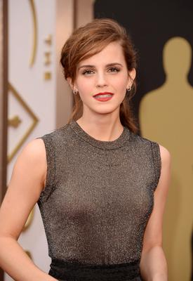 Actress Emma Watson attends the Oscars held at Hollywood & Highland Center on March 2, 2014 in Hollywood, California.  (Photo by Jason Merritt/Getty Images)