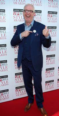 Rory Cowan on the Red Carpet at The Peter Mark VIP Style Awards 2015 at The Marker Hotel,Dublin. Pictures Brian McEvoy