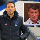 Frank Lampard and (inset) Roy Keane