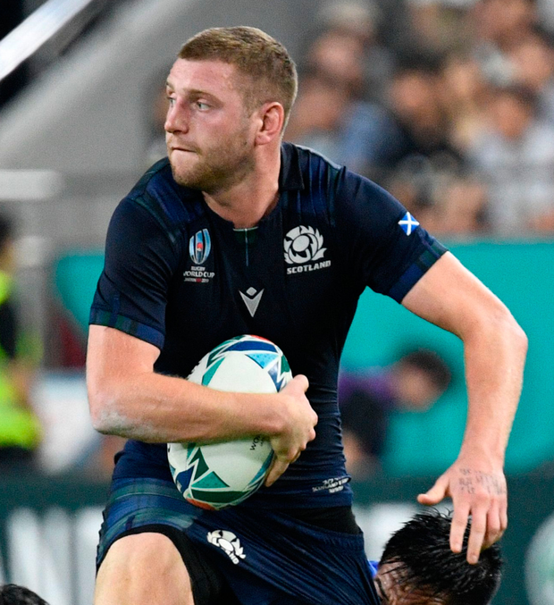 Scotland's Finn Russell out of Ireland game over discipline breach