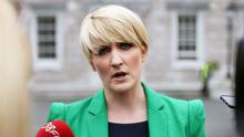 Senator Averil Power at Leinster House Dublin this afternoon. Photo: Stephen Collins/Collins Photos