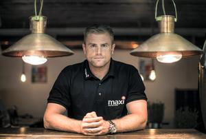 Jamie Heaslip celebrated the launch of the new MaxiNutrition online shop for Irish consumers with a 'Maxi' inspired Pop-Up restaurant at his BEAR restaurant yesterday. Photo: INPHO/Dan Sheridan