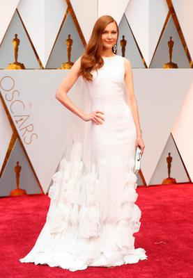 Darby Stanchfield at the Oscars. REUTERS/Mike Blake