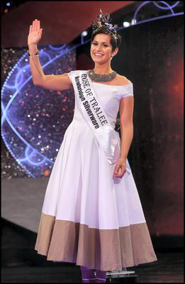 Philadelphia Rose Maria Walsh who was crowned The Rose of Tralee 2014