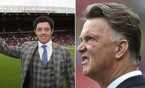 Rory McIlroy has reservations about Louis van Gaal