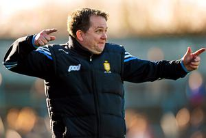 Clare manager Davy Fitzgerald will be boosted by his side's victory over Dublin yesterday
