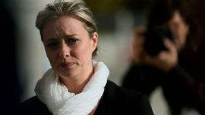 Abuse survivor Mairia Cahill arrives at Stormont, Belfast for a meeting with First Minister Peter Robinson over allegations that she was interrogated by the IRA after she claimed she was abused by a member of the terror group. Photo: PA
