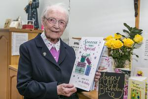 Sr Maureen Kehoe has been celebrating her 103rd birthday. Photo: Kyran O'Brien