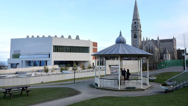 The new Library in Dun Laoghaire Pic Frank Mc Grath