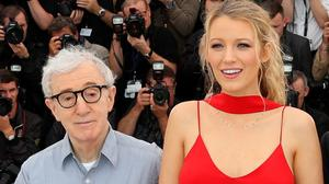 Blake Lively and Woody Allen at the Cannes Film Festival