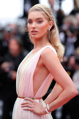 """Elsa Hosk attends the screening of """"A Hidden Life (Une Vie Cachée)"""" during the 72nd annual Cannes Film Festival on May 19, 2019 in Cannes, France. (Photo by Andreas Rentz/Getty Images)"""