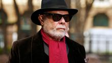 Former pop star Gary Glitter arrives at Southwark Crown Court, London, where he is due to stand trial accused of a string of historic sex offences against three girls. Photo: Jonathan Brady/PA