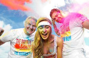 Bressie, Roz Purcell, and Brent Pope are among the colourful characters signed up for Ireland's first rainbow run last year