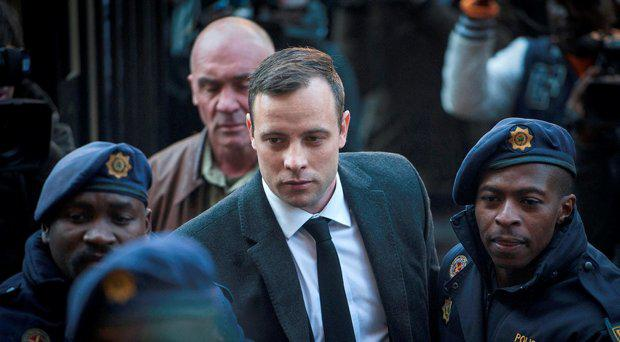 Oscar Pistorius in July 2016 in court for an earlier hearing