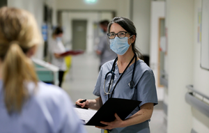 BALANCING CARE: Dr Catherine McGorrian, an acute physician and cardiologist and the Mater's clinical director for emergency and speciality medicine. Photo: David Conachy