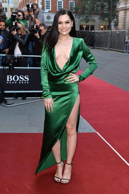 Jessie J attends the GQ Men of the Year awards at The Royal Opera House on September 2, 2014 in London, England.  (Photo by Anthony Harvey/Getty Images)