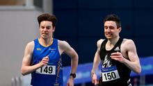 Mark English on his way to winning the Men's 800m, ahead of Cian McPhillips