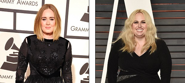 Adele has addressed rumours that Rebel Wilson is set to play her in a movie. Photo: Getty