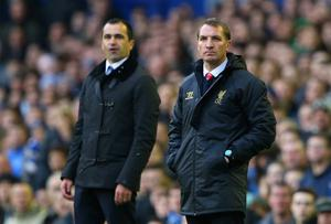 Brendan Rodgers and Roberto Martinez will meet this afternoon with neither happy about how their team season has started. Alex Livesey/Getty Images