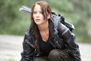 Jennifer Lawrence stars as Katniss Everdeen in 'The Hunger Games'