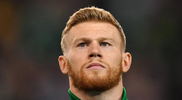 Barnsley issue a statement after they are charged following alleged sectarian abuse of Ireland's James McClean