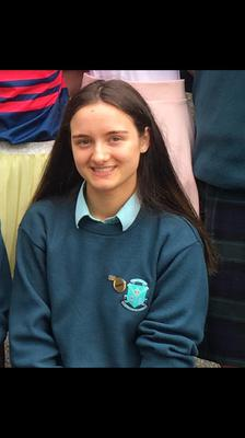 Ciara Gallagher (18) from Carrickmacross, Co.Monaghan