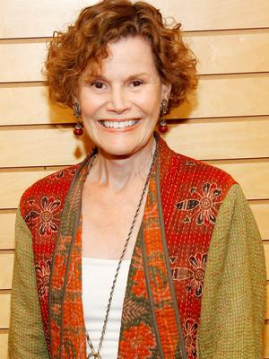 Judy Blume: still writing. Photo: Joe Kohen/FilmMagic