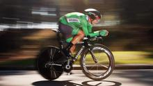 Nicolas Roche of Ireland in action in the Elite Men's Individual Time Trial on day four of the UCI Road World Championships in Ponferrada, Spain