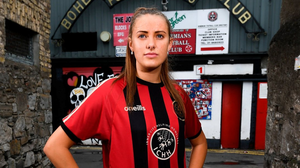Chloe Darby will be part of the first Bohemians team to play in the Women's National League at senior level this year. Photo: Sportsfile