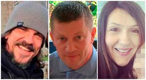 Kurt Cochran, Keith Palmer and Aysha Frade - The victims of the London terror attack
