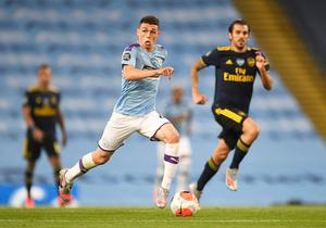 Manchester City's Phil Foden in action. Photo: Peter Powell/Pool via Reuters