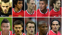 Manchester United currently have 10 first-team players injured