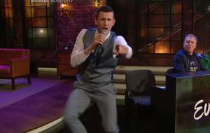 The Crystal swing star everyone on the Ellen Show was, 'as sound as a pound'