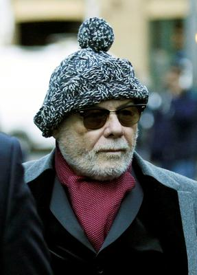 Former pop star Gary Glitter has taken to the witness box to give evidence in his trial for a string of historic sex offences against young girls. Credit: Nick Ansell/PA Wire