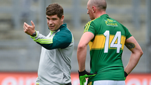 Kerry manager Eamonn Fitzmaurice has dropped captain Kieran Donaghy , as well as Marc O'Se and Paul Murphy for the All-Ireland Final