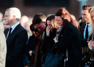 Security was tight as mourners attended the funeral of shooting victim Noel Kirwan in Dublin.