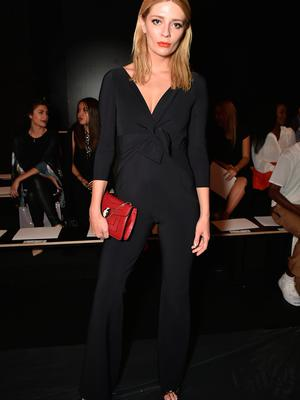 Mischa Barton attends the Chiara Boni La Petite Robe fashion show during New York Fashion Week: The Shows at The Dock, Skylight at Moynihan Station on September 13, 2016 in New York City.  (Photo by Theo Wargo/Getty Images for New York Fashion Week: The Shows)