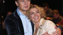 Liam Neeson with his late wife Natasha Richardson