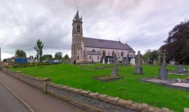 St Mary's Catholic church in the rural border village of Newtownbutler in Co Fermanagh .