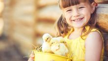 If you can't get out and about this Easter, don't worry - there are plenty of activities you can do with your children at home.