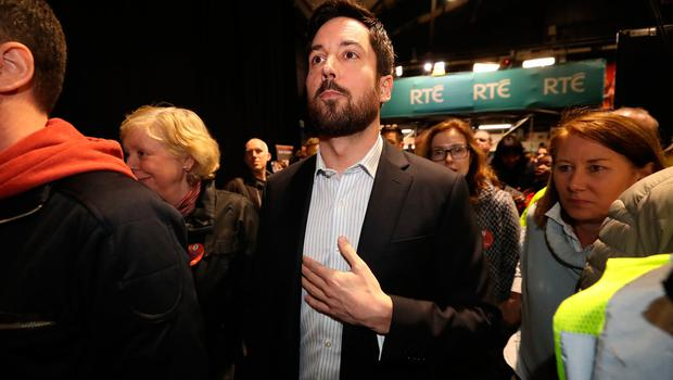 Eoghan Murphy arriving at the RDS in Dublin Photo credit: Niall Carson/PA Wire