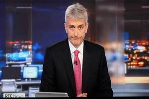 David McCullagh says sorry on the Six One news. Picture By David Conachy. 2011/2020