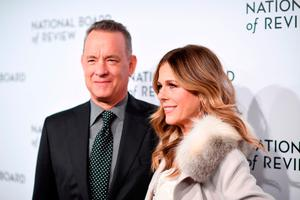 Tom Hanks (L) and Rita Wilson attend the The National Board Of Review Annual Awards Gala at Cipriani 42nd Street on January 9, 2018 in New York City.  (Photo by Dimitrios Kambouris/Getty Images for National Board of Review)