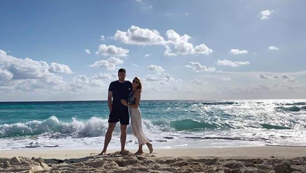 Declan Hannon and Louise Cantillon on holidays. Picture: Instagram