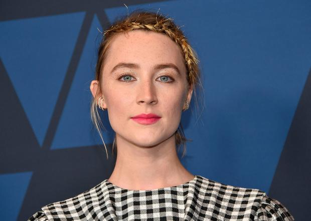 Saoirse Ronan has been nominated for a Golden Globe for her role in Little Women (Photo by Chris Delmas / AFP)